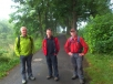 001 - Die Marathonwanderer beim Start in Freilingen